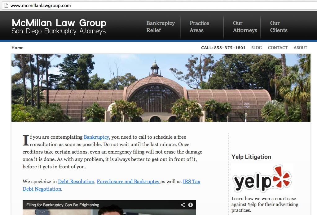 McMillan Homepage