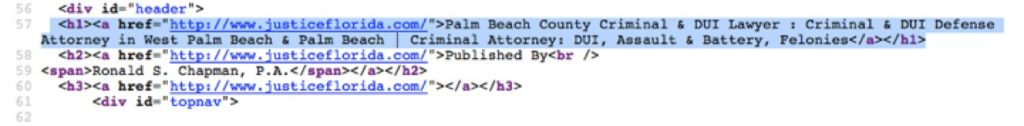 Justice Florida Code