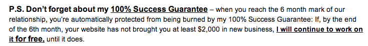 Guarantee - Speakeasy Marketing