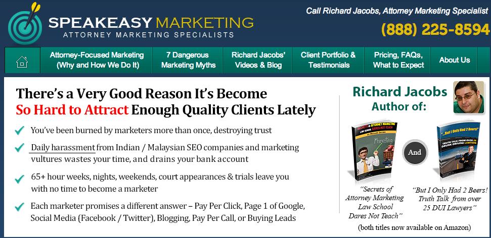 Speakeasy Lawyer Marketing