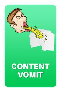 Content Vomit