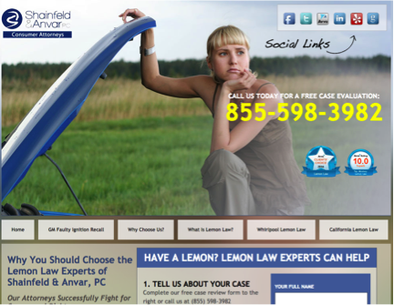 lemonlawcars1-website-screenshot