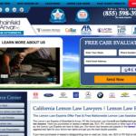lemonlawexperts website screenshot