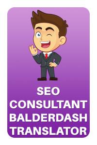 SEO Consultant Balderdash Translator