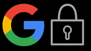 Google Logo Lock