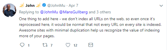 john mueller google indexing issues